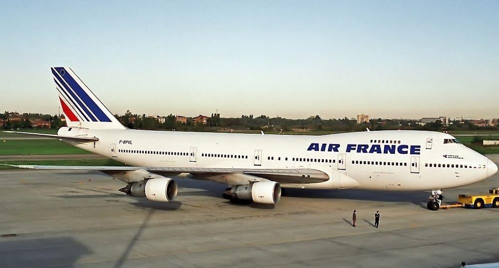 Bilety lotnicze Air France